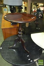 Sale 8380 - Lot 1094 - Mahogany Wine Table on Tripod Base