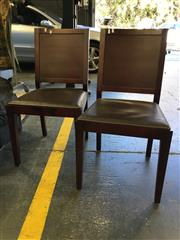 Sale 8782 - Lot 1734 - Set of 4 Modern Dining Chairs