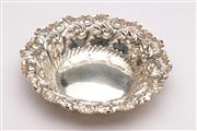 Sale 9044 - Lot 13 - Hardy Bros Hallmarked Sterling Silver Dish (Dia:22cm, wt. 230g) Sheffield c1897 Made By Fenton Bros