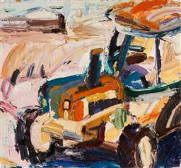 Sale 9141 - Lot 536 - Craig Waddell (1973 - ) Hungry Hollow, 2004 oil on canvas 120 x 130 cm signed, dated and titled verso