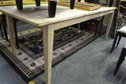 Sale 8099 - Lot 869 - Bleached Recycled Elm Dining Table