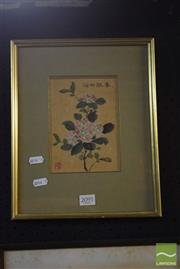 Sale 8518 - Lot 2091 - Yee Shing, Watercolour on Silk, 17x12cm