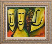 Sale 8259 - Lot 568 - Kevin Charles (Pro) Hart (1928 - 2006) - Wages Men 39 x 49.5cm