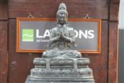 Sale 8292 - Lot 57 - Ching Dynasty 18th /19th Century Bronze Figure of Guanyin