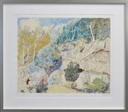 Sale 8294 - Lot 524 - Lloyd Rees (1895 - 1988) - Edge of the Forrest, 1984 64 x 74.5cm