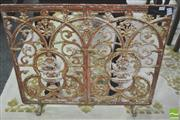 Sale 8338 - Lot 1427 - Cast Iron Lace Free Standing Panel