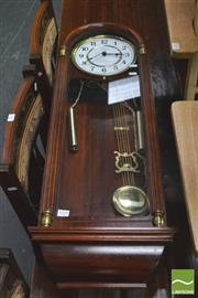 Sale 8392 - Lot 1039 - Tempus Westminster Cased Chime Clock