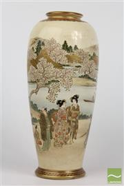 Sale 8529 - Lot 93 - Japanese Satsuma Vase