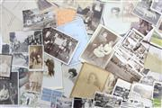 Sale 8546 - Lot 12 - Antique Family Photos And Other Ephemera