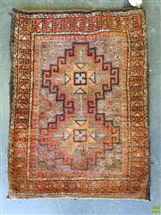 Sale 8566 - Lot 1591 - Persian Cushion Cover