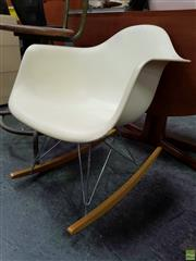 Sale 8585 - Lot 1055 - Eames Rocking Chair by Vitra