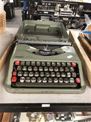 Sale 8797 - Lot 2421 - Aristocrat Portable Typewriter