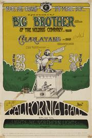 Sale 9078A - Lot 5145 - Greg Irons - Big Brother & The Holding Company 51 x 35 cm (sheet)