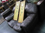 Sale 7937A - Lot 1151 - Brown 2 Seater Lounge