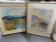 Sale 8441T - Lot 2084 - Various Artists - Original Oil Painting & Watercolour, various sizes, each signed lower