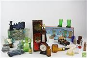 Sale 8540 - Lot 207 - Perfume and Other Glass Bottles