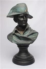 Sale 8689 - Lot 23 - Large Bronze Bust of Napoleon After Colombo