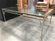 Sale 8782 - Lot 1713 - Glass Top Coffee Table