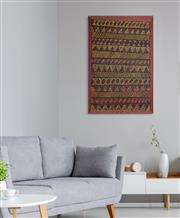 Sale 8971A - Lot 5058 - Margaret Tipungwuti (1969 - ) - Pupuni Jilamara 120 x 80 cm (stretched and ready to hang)