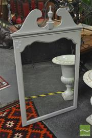 Sale 8262 - Lot 1029 - White Painted Mirror