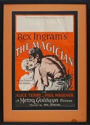 Sale 8696A - Lot 5072 - Rex Ingrams, Production of THE MAGICIAN