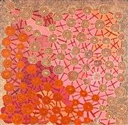 Sale 8786 - Lot 519 - Patrick Oloodoodi Tjungurrayi (c1943 - ) - Tingari Cycle 122 x 122cm (stretched and ready to hang)