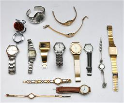 Sale 9144 - Lot 108 - A collection of various wristwatches
