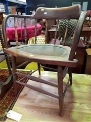 Sale 8570 - Lot 1088 - Pair of Captain Style Chairs
