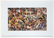 Sale 8898 - Lot 2063 - After Jackson Pollock (1912 - 1956) - Abstract 55 x 92 cm