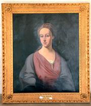 Sale 8015A - Lot 64 - ARTIST UNKNOWN, 18TH CENTURY STYLE - Portrait of Ruth Gibton, Family Portrait