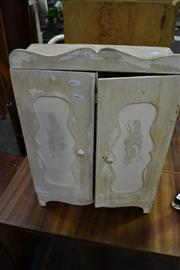 Sale 8066 - Lot 1055A - Small Timber 2 Door Cabinet