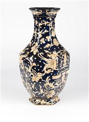 Sale 8350L - Lot 50 - An antique Chinese museum copy vase, H 37cm, RRP $ 280