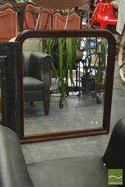 Sale 8406 - Lot 1164 - Timber Framed Mirror