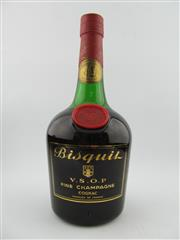 Sale 8385 - Lot 608 - 1x Bisquit VSOP Cognac - old bottling