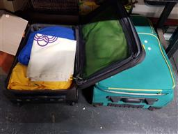 Sale 9176 - Lot 2574 - Two suitcases of Olympic clothing items inc bag, tracksuits etc