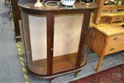 Sale 8115 - Lot 1101 - Bow Front Display Cabinet