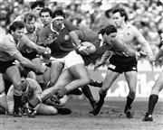 Sale 8764 - Lot 12A - Australia vs British Lions Test Match, Sydney Football Stadium, 1 July, 1989 - 20 x 25cm