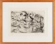 Sale 8844 - Lot 65 - M. Taylor - Abstract Work 15 x 22cm
