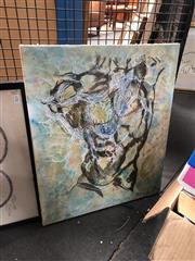 Sale 8836 - Lot 2082 - Artist Unknown - Abstract, signed, 60x50cm