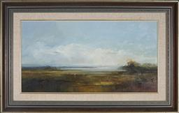 Sale 9067A - Lot 5072 - Ken Taber (1942 - ) - White Eggets At The Edge Of The Lake signed lower left