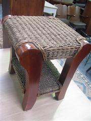 Sale 7933A - Lot 1166 - Seagrass Stool