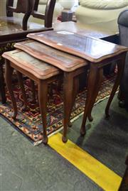 Sale 8550 - Lot 1398 - Nest Of Three Tables