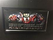 Sale 8805A - Lot 827 - Casey Stoner, King of the Island, Limited Edition, framed