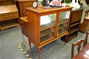 Sale 7987A - Lot 1007 - Elevated Display Cabinet