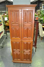 Sale 8019 - Lot 1049 - Tall Timber Entertainment Cabinet w 4 Doors