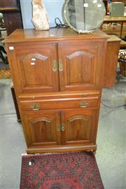 Sale 8115 - Lot 1063 - Bar w 4 Doors, Drawer & Slide