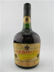 Sale 8385 - Lot 624 - 1x Courvoisier VSOP Cognac - Hong Kong import, old bottling