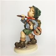Sale 8456B - Lot 57 - Hummel Figure of a Boy Walking with Lute