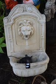 Sale 8550 - Lot 1366 - Water Feature