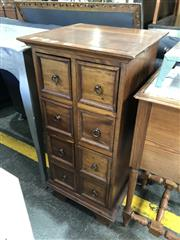 Sale 8801 - Lot 1573 - Small 8 Drawer Chest